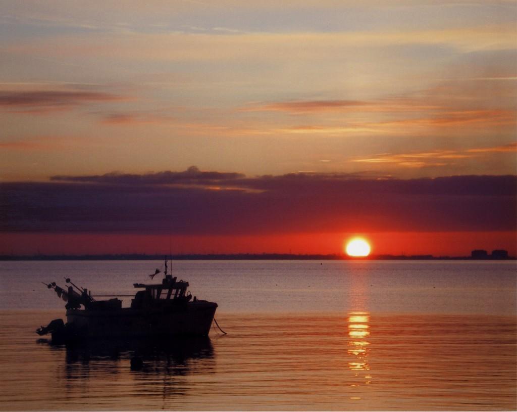SUNSET OVER BRADWELL