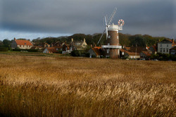 CLEY WINDMILL AND VILLAGE