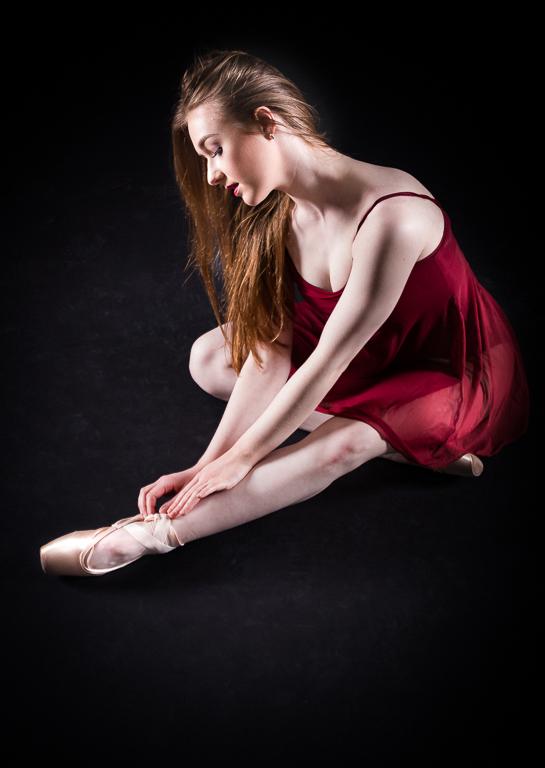 THE DANCER AT REST