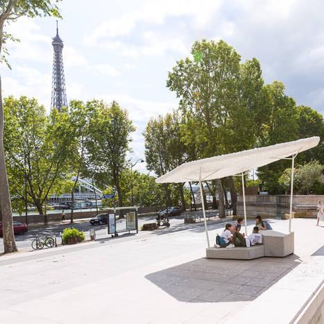 La Banquise Urbaine, îlot frais, Ville de Paris 2019