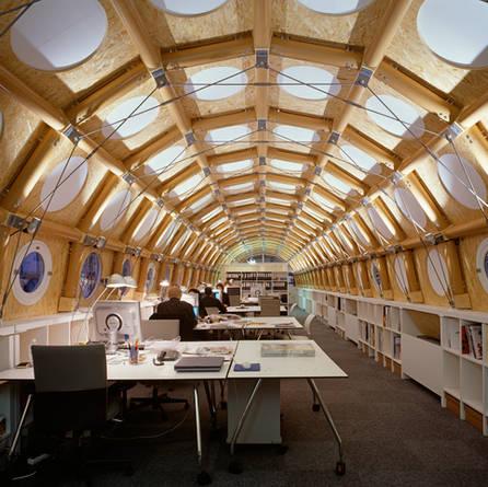 Paper Tube Studio, Shigeru Ban