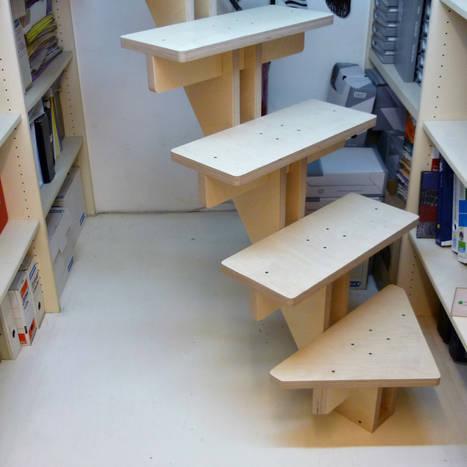Escalier B.