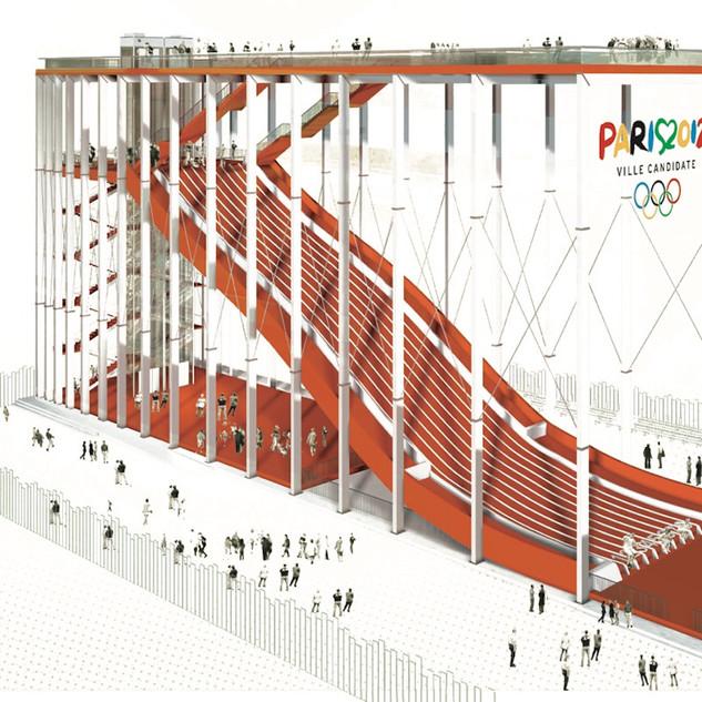 Toboggan Olympique, Paris