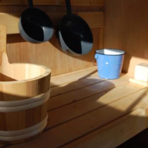 Sauna dans les prés, Normandie