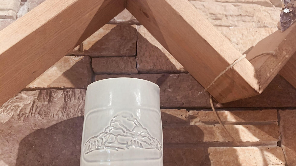 Crowsnest Mountain Pottery Candle