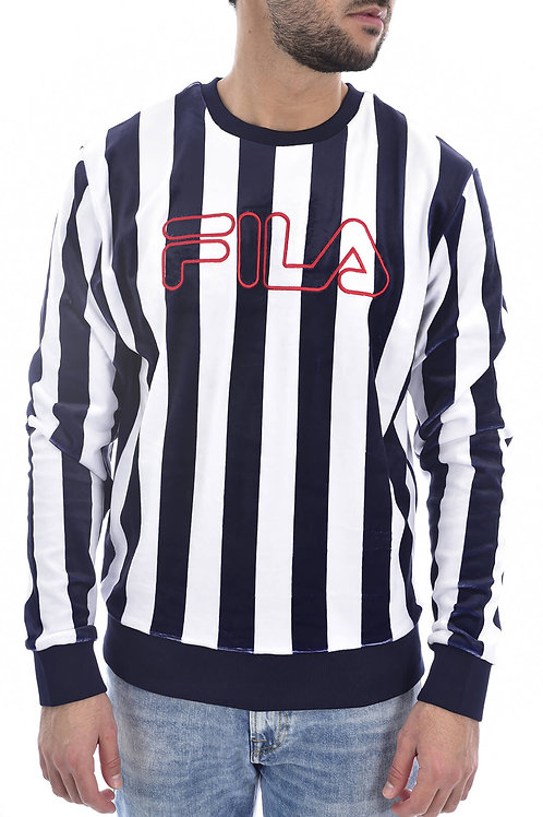 Fila- Sweat velours rayé