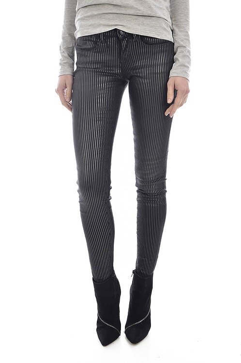 Guess - Jean rayé ultra skinny jegging - Guess jeans