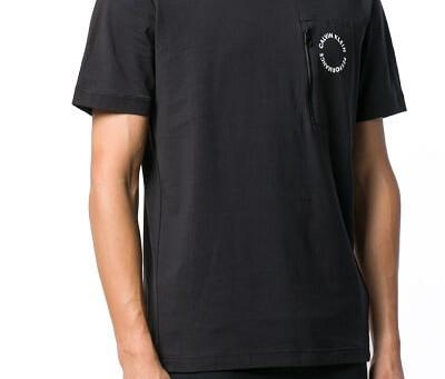 Le Tee shirt Calvin Klein noir de Low Cloth's, le site de vêtement de marque pour homme et femme