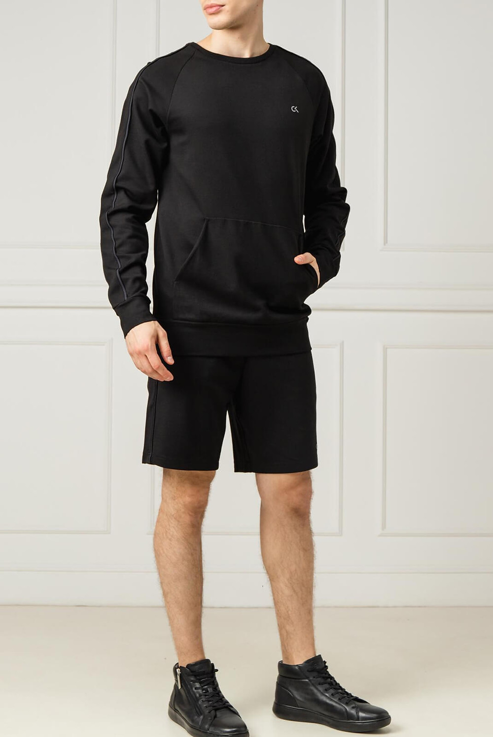 Short-sport-calvin-klein-noir-low-cloths