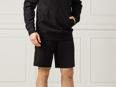 Low Cloth's vous propose son short de sport Calvin Klein noir
