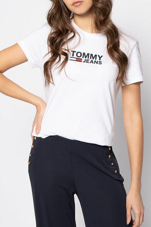 Tommy hilfiger -Tee shirt coton à logo printé - Tommy jeans