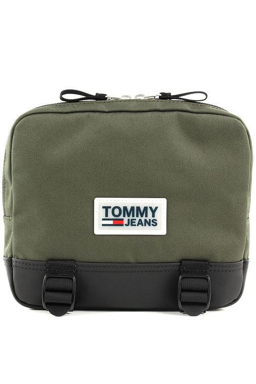 Tommy hilfiger- Sacoche reporter taille S logo patché- Tommy jeans