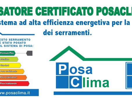 R&S Infissi è un azienda con posatori certificati Posaclima