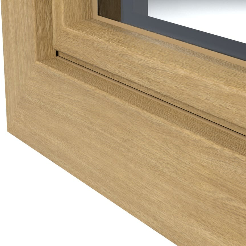 Esempio di goffratura PVC effetto legno