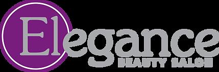 Elegance Beauty Salon in Horsham logo branding