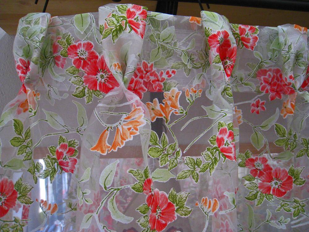 Voilage à plis flamands SOLA - détail des plis