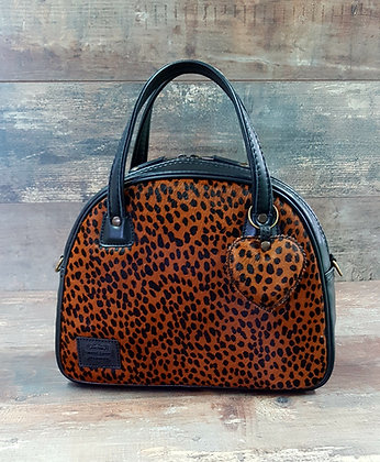SkinAss BIG BOSS léopard / leopard BIG BOSS handbag