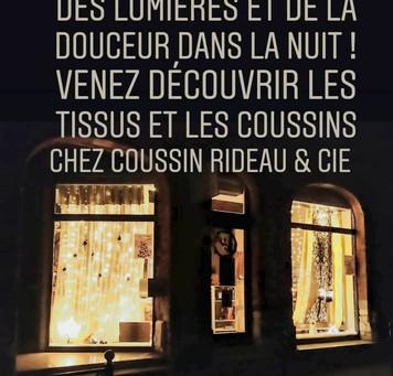 Noël chez COUSSIN RIDEAU & Cie