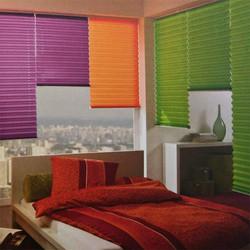 Jeu de couleurs pour stores plissés sur-mesure