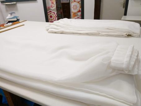 Petits plis et store traditionnel !