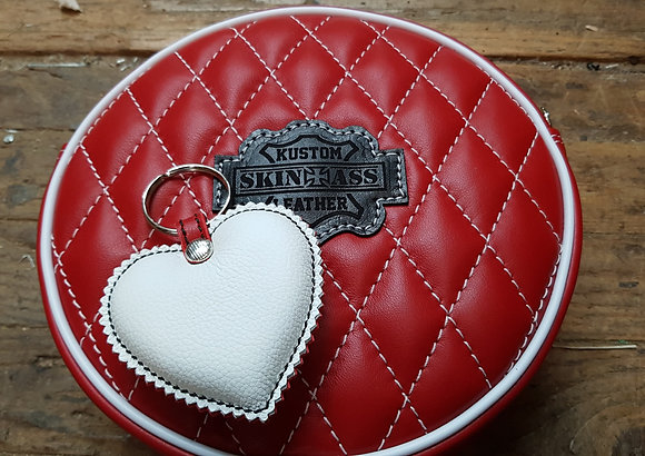 Sac SkinAss BABY BALL en cuir rouge / red leather BABYBALL bag