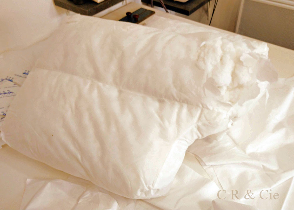 CR&Cie - garniture de canapé à restaurer