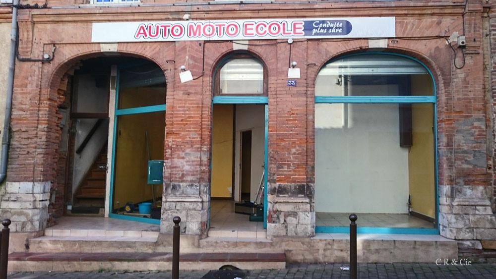 Boutique avant rénovation