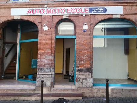 Début des travaux de la nouvelle boutique à Muret