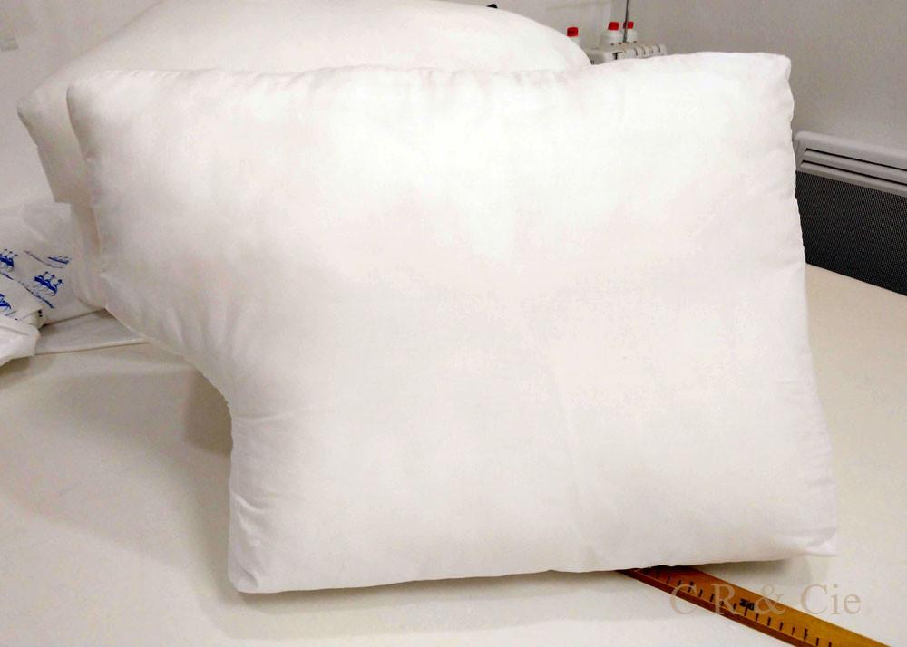 CR&Cie - garnitures de coussins de canapé refaites à neuf