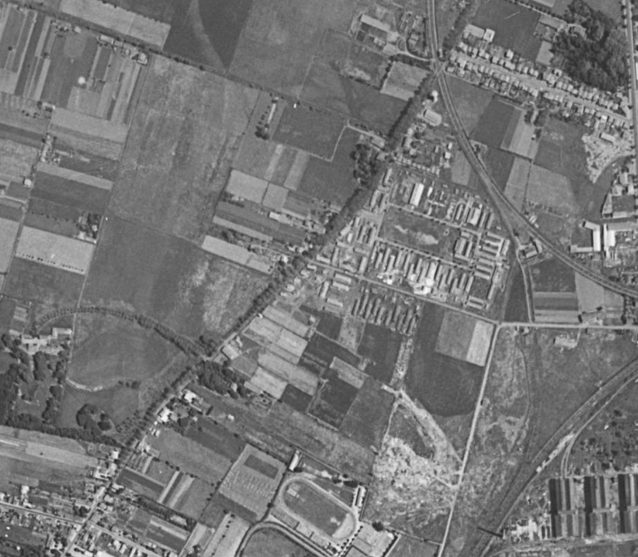 au 275 route de Seysses il y a 50 ans ...