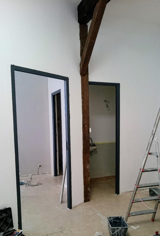 encadrements de portes anthracite