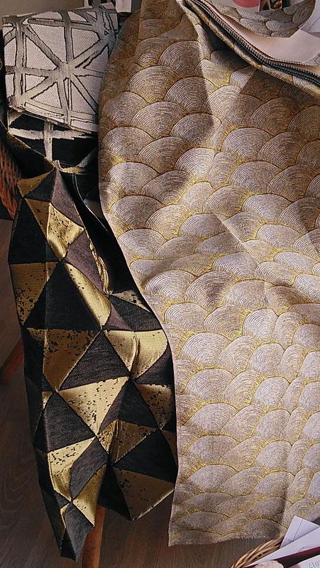 CR&Cie - Collections Thévenon - Tissus jacquards à motifs variés