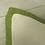 Thumbnail: Coussin de décoration TRIBUTE TO MARTRES, fond écru, volant vert