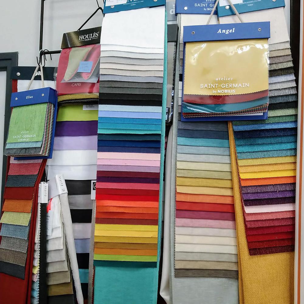 collections tissus unis éditeurs marques prestige