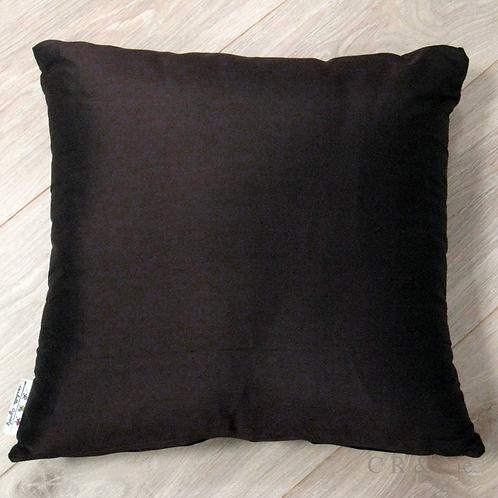 Coussin de décoration CACHOU en soie sauvage