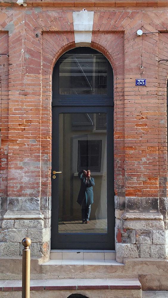 Porte d'entrée de la boutique