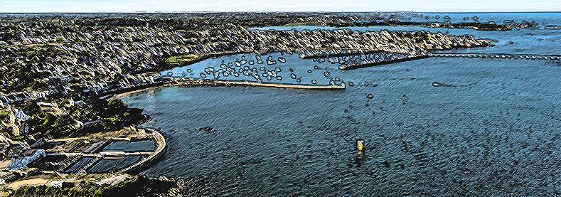 un bol d'air marin et des embruns pour des idées neuves et une énergie renouvelée pour COUSSIN RIDEAU & Cie