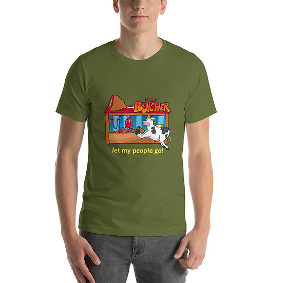 T-shirt let my people go
