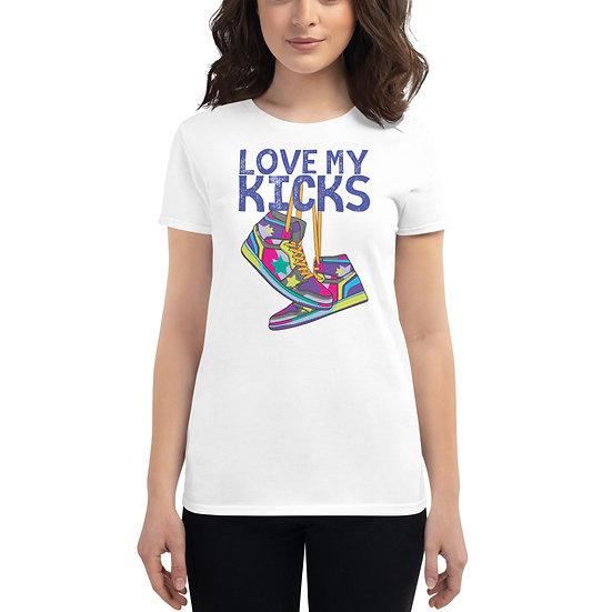 T-shirt snix for women blue