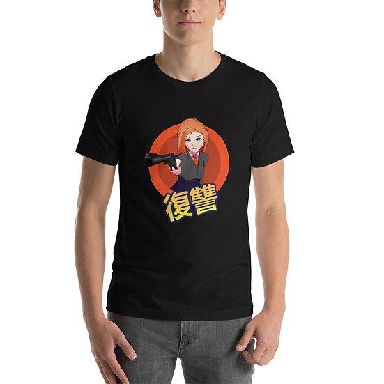 טי שירט anime brave
