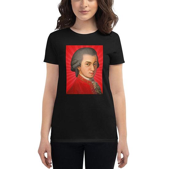 טי שירט Mozart for women