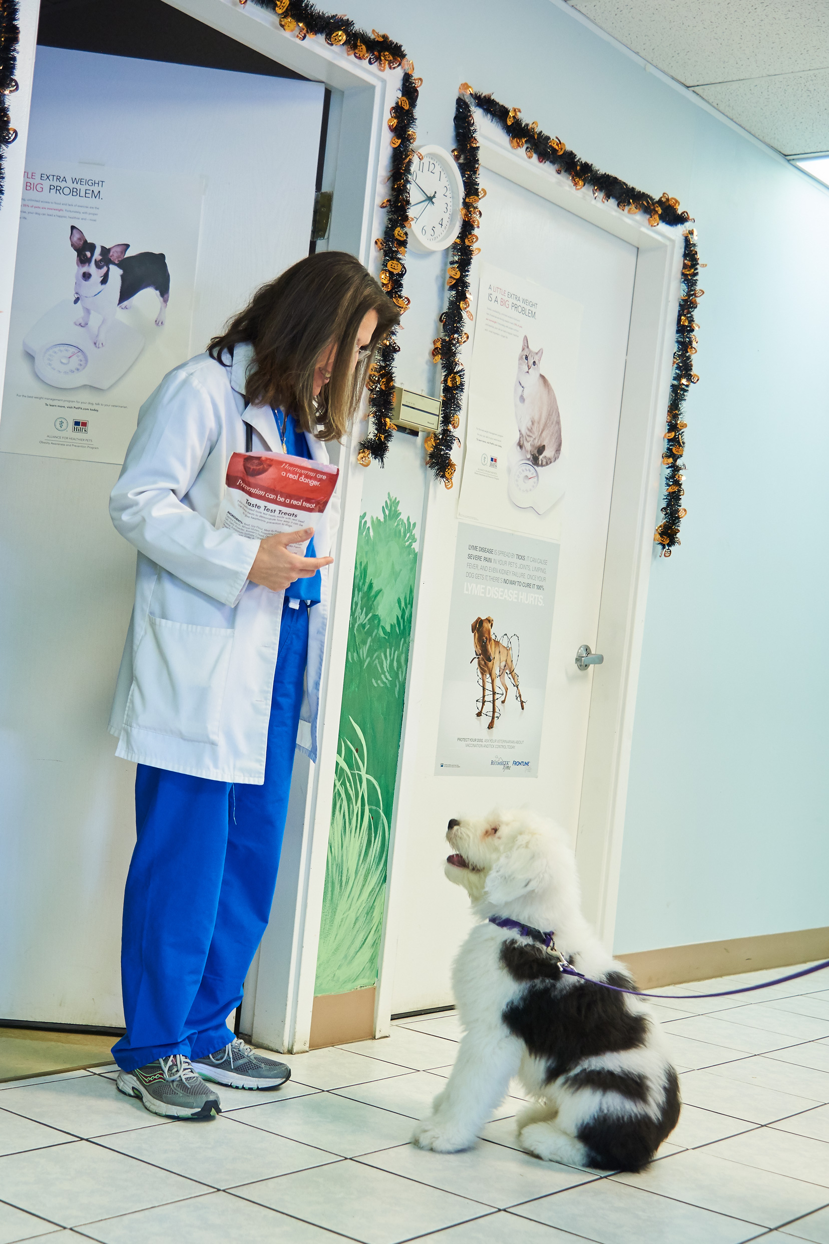 Dr. Dodin and Boomer