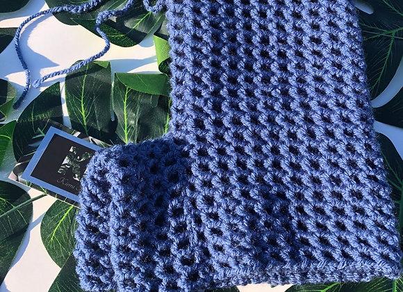 Denim Crochet Shorts