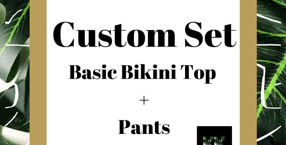 Basic Top + Pant Set