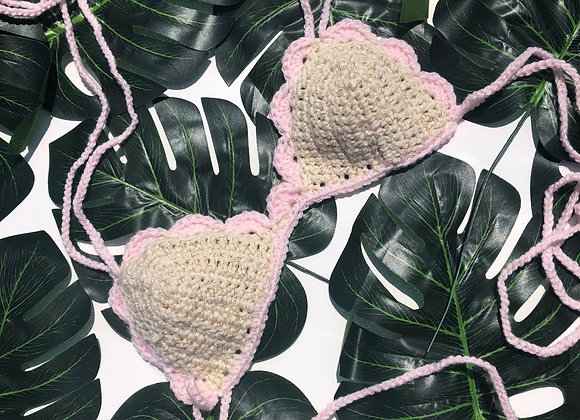 Scallop Bralette - Soft Pink