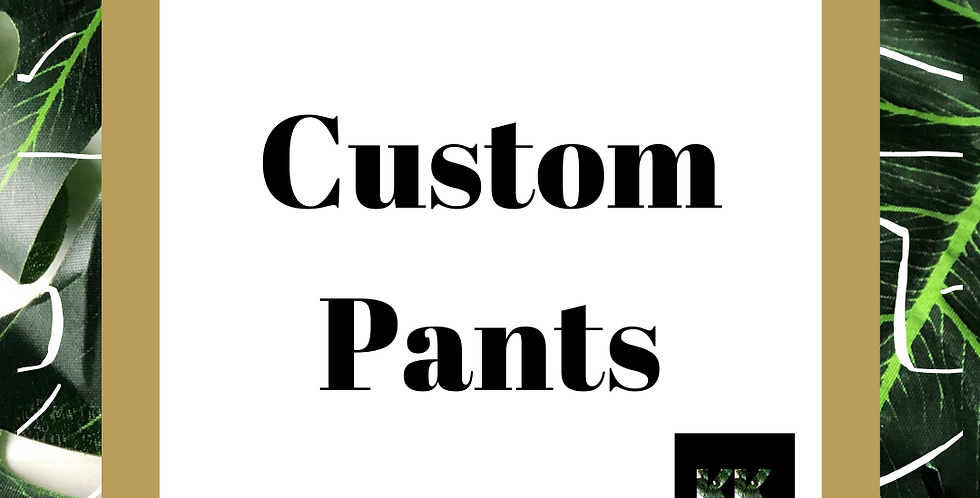 Custom Crochet Pants