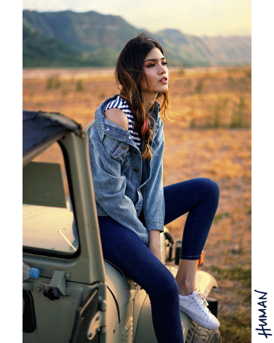 Photographer: Patrick Diokno Stylist: Lorenz Namalata Hairstylist: Mong Amado Model: Hannah Locsin For HUMAN Summer Campaign 2017