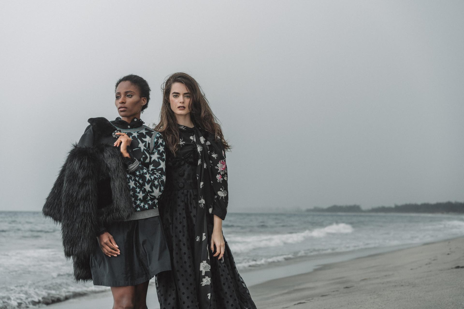 Photographer: Artu Nepomuceno Stylist: Meg Manzano Hairstylist: Carlo Umipig Model: Eunique of Elite Models Manila and Bronija Ales For L'Officiel Philippines