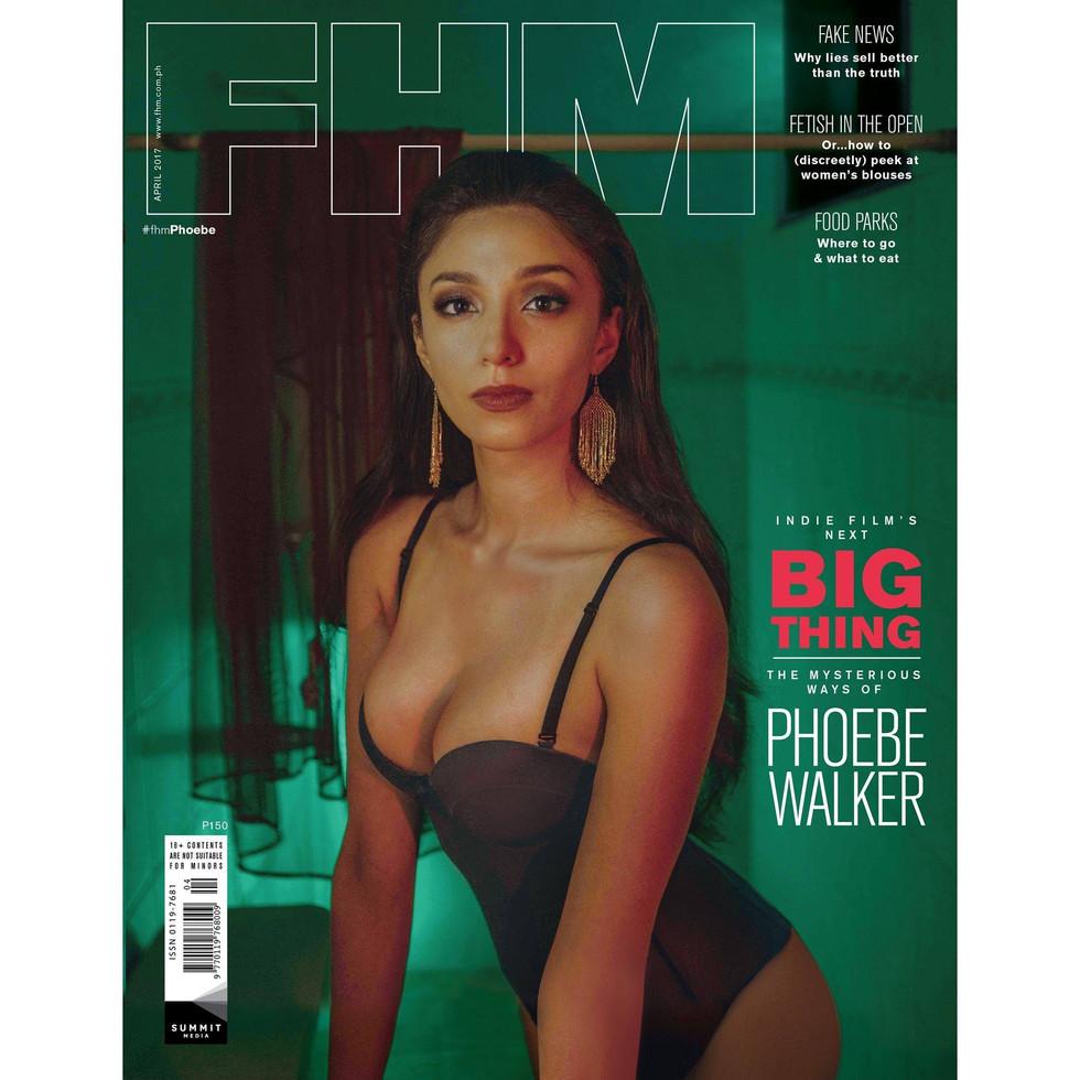 Photographer: Artu Nepomuceno Stylist: Meg Manzano Hairstylist: Carlo Umipig Model: Phoebe Walker of Viva Artists Agency  For FHM Philippines