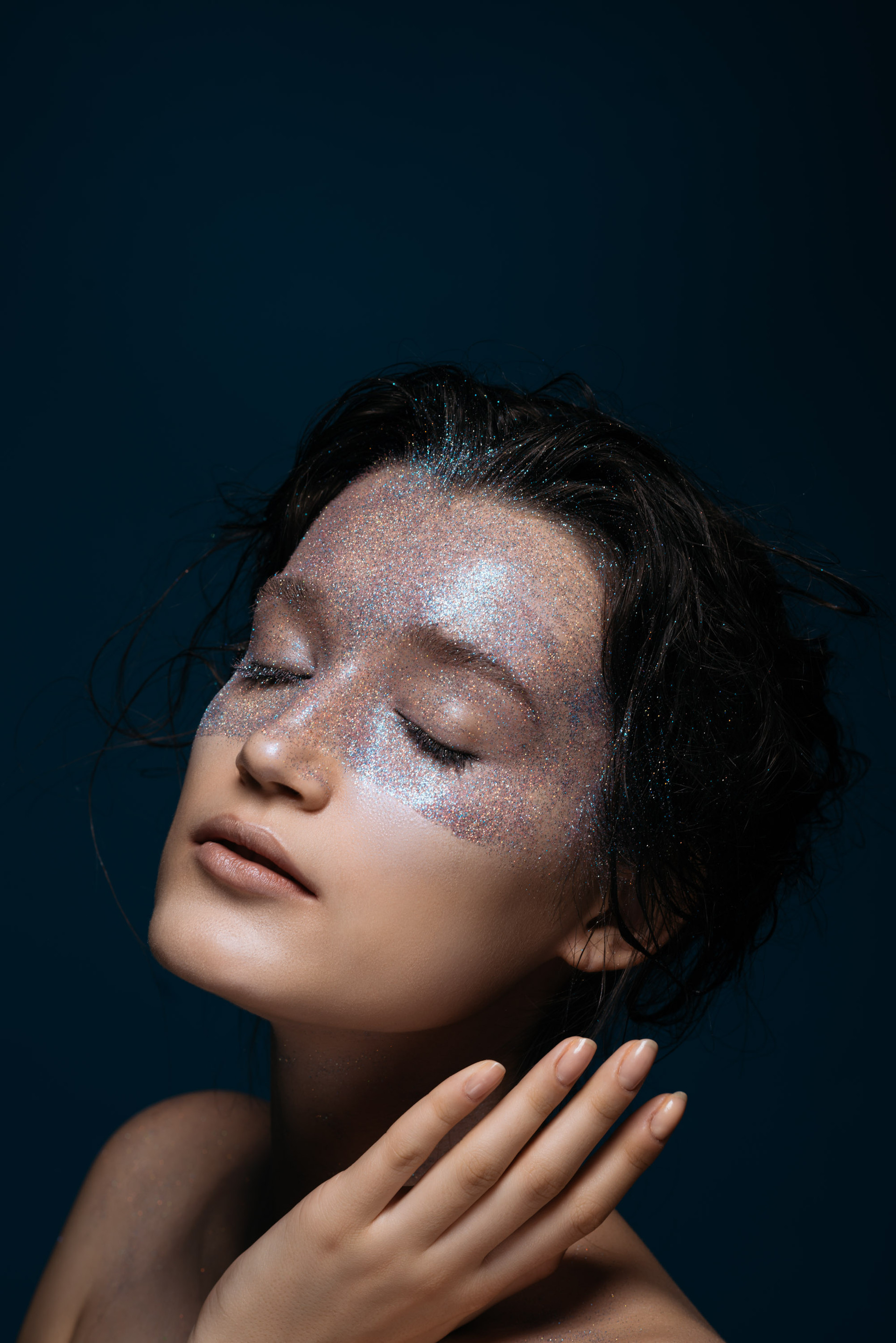 Photographer: Antonio del Rosario Hairstylist: Mong Amado Model: Karina Babii of Women's Folio